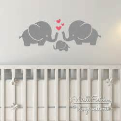 baby wall art stickers elephant wall sticker baby nursery elephant wall decal diy