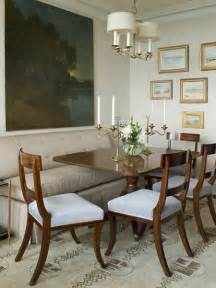 Dining Room Table With Sofa Seating Decorating For Small Space Dining Rooms Megan Morris