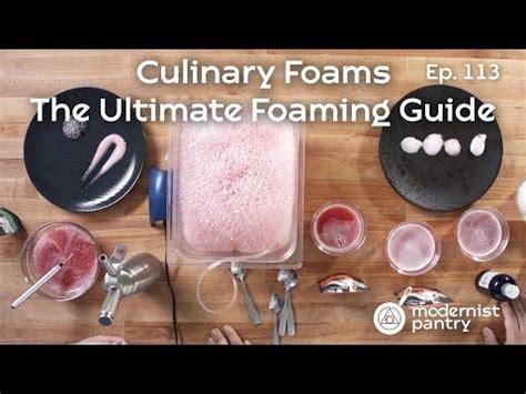 secret  culinary foams   culinary foam