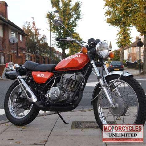 Vintage Suzuki Motorcycles For Sale 1974 Suzuki Ts400 Apache Classic Suzuki For Sale