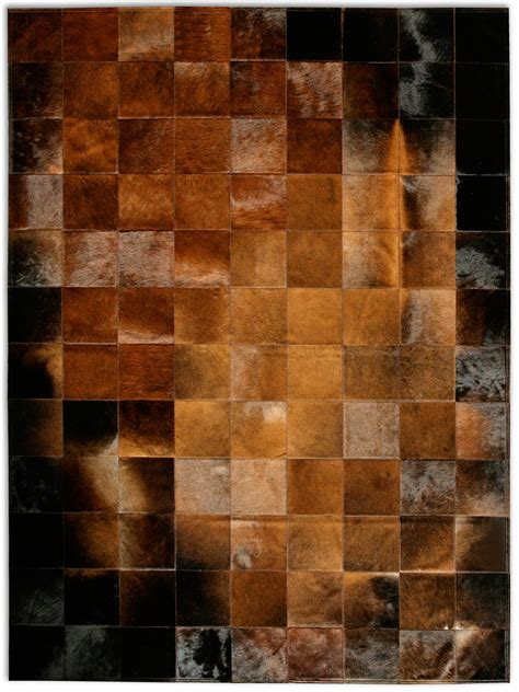 Patchwork Cowhide - cow hide patchwork rug rugs ideas