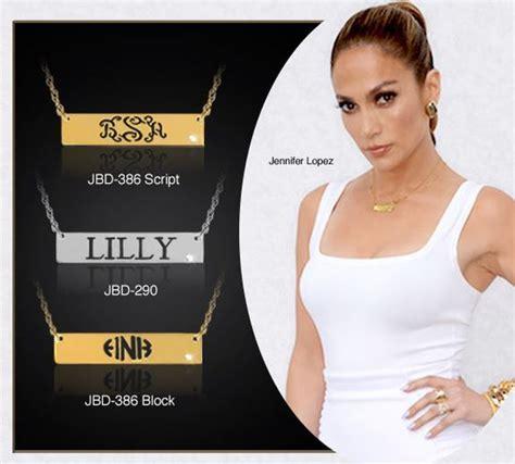 celebrity personalized jewelry 13 best celebrity monogram jewelry images on pinterest