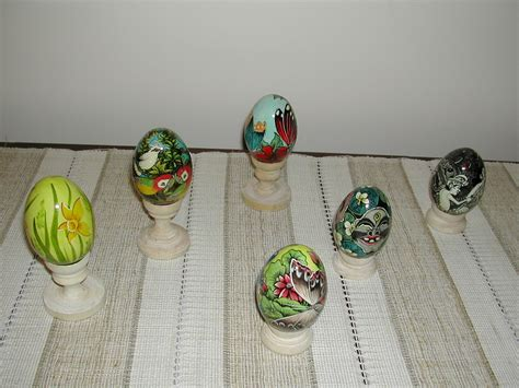 Topeng Kaca 23 Deluxe bali traditional handycraft egg painting