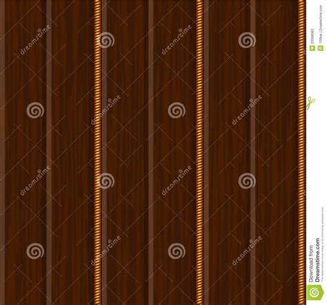 wood wall panel texture  gold stock vector image