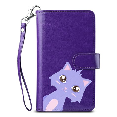 New Flip Cover Wallet Samsung Note 2 3 4 5 S7 Edge S7 Flat S8 luxury magnetic flip leather card cover wallet for