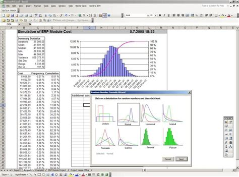Niklas Karlstr 246 Ms Excel Vba Applications Monte Carlo Simulation Excel Template