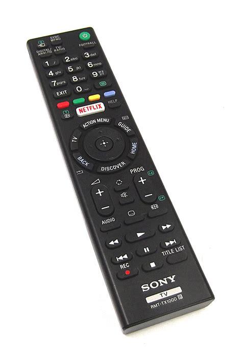 Remote Tv Sony Rmt Tx110p original sony rmt tx100d remoto de tv ebay