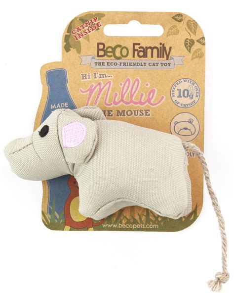 Beko Toys beco catnip mouse beco pets collection
