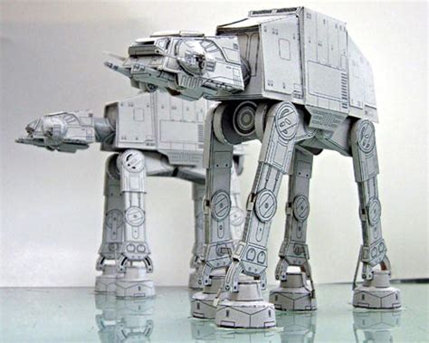 Papercraft Wars - make your own papercraft through sf paper craft gallery