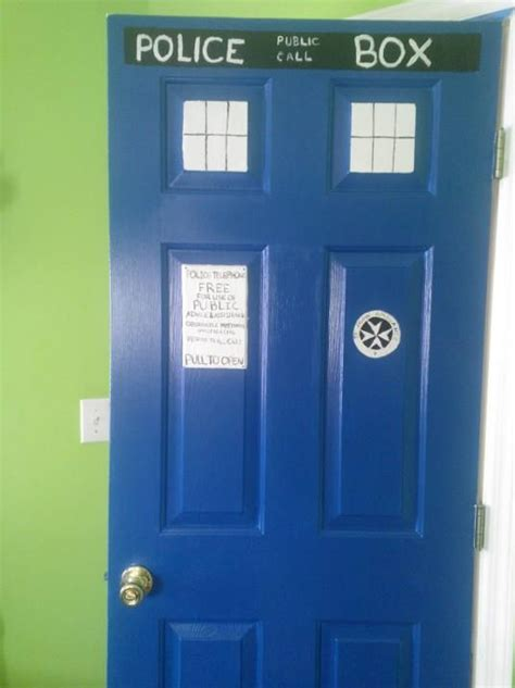 13 best images about dr who on front doors