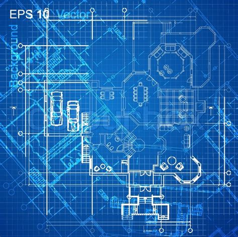 construction blueprint urban blueprint vector architectural background part