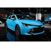 2019 Toyota Corolla Hatchback Gets Techd Up For NY Auto