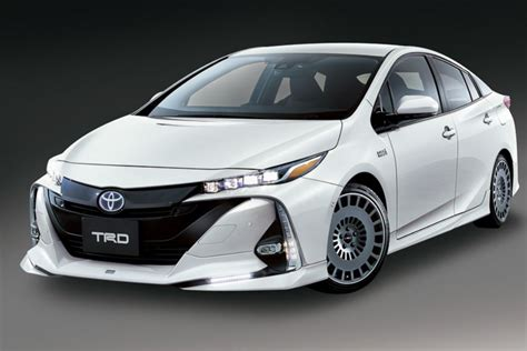 Toyota Japan Toyota Prius Prime In Gets Tuned By Trd And