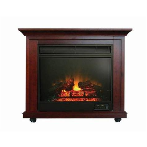paramount clayton mahogany electric fireplace 34 inches