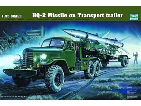 Raket Hq 1 35 hq 2 missile on transport trailer