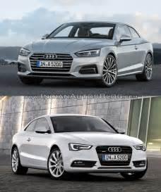 Audi A4 Vs Audi A5 2016 Audi A5 Coupe Vs 2012 Audi A5 Coupe Front Three