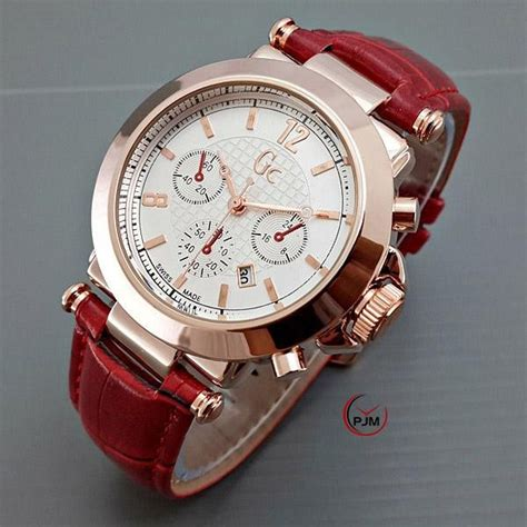 Jam Tangan Guess Collection Coklat turun harga ready 10 warna jam tangan gc guess