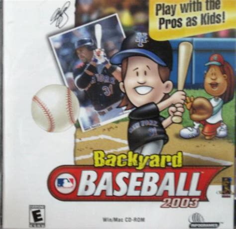 backyard sports books backyard baseball 2003 0742725240612 amazon com books