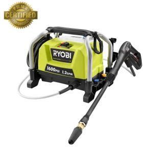 ryobi 1 600 psi 1 2 gpm electric pressure washer ry141600