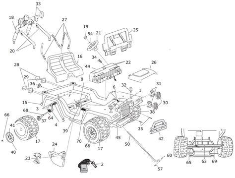 Jeep Wrangler Parts Diagram Jeep Wrangler Parts