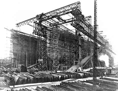 titanic 2 boat being built the hull being built rms titanic boats ships pinterest