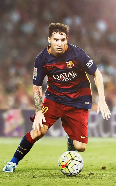 lionel messi playing  fc barcelona  pure