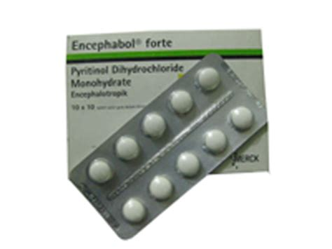 Obat Encephabol Tablet Kuliah Encephabol