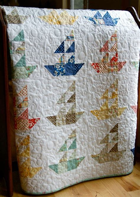 Handmade Childrens Quilts - 25 best ideas about nautical quilt on boys