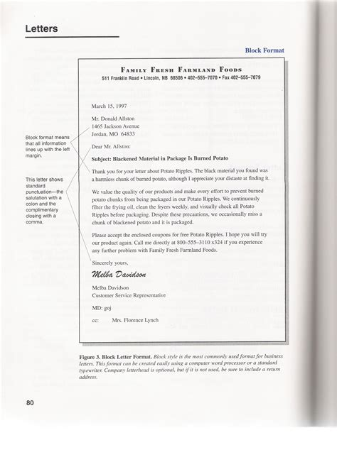 Business Letter Questions sle business letter october 2015