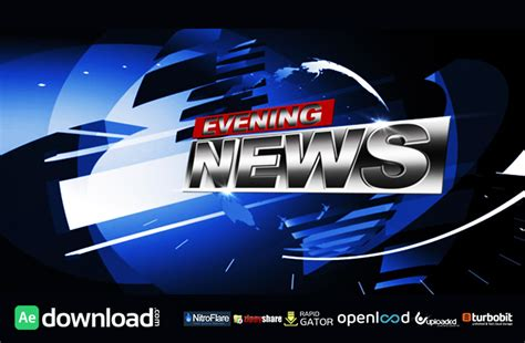 news templates after effects free download broadcast news project free download videohive project
