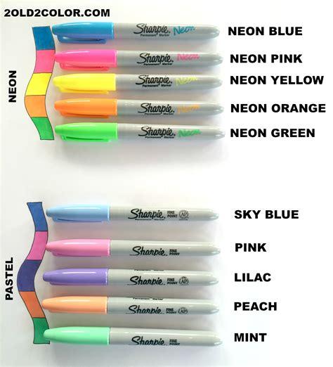 sharpie marker colors sharpie colors