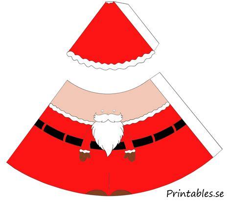 free printable santa paper dolls cone paper doll santa claus and santas helper