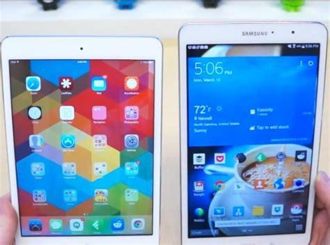 Samsung Tab 4 Mini mini retina vs galaxy tab pro 8 4 in match