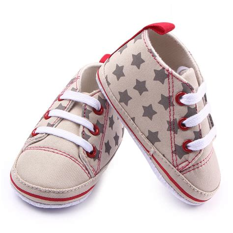 Crib Sneakers Baby Baby Boy Soft Sole Football Crib Shoes Sneakers Canvas Walking Shoes Ebay