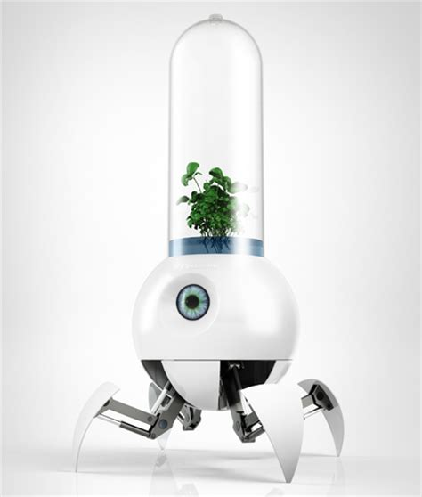 Garden Robot Robot Designed To Help Earth Plants Grow On Mars