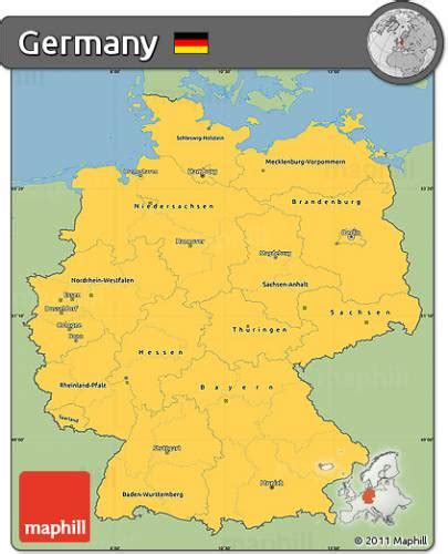 map fo germany free map of germany holidaymapq