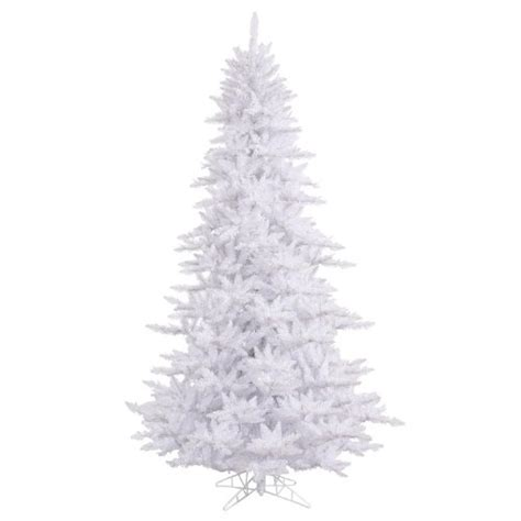 6 5 medium white fir artificial christmas tree unlit