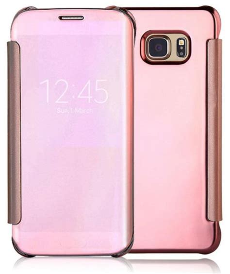 Nano Flip Cover Samsung Galaxy S7 Abu Abu clear view flip cover for samsung galaxy s7 edge