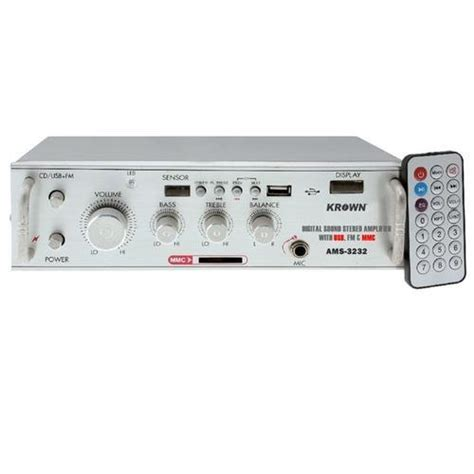 4 channel stereo home theater lifier with fm usb