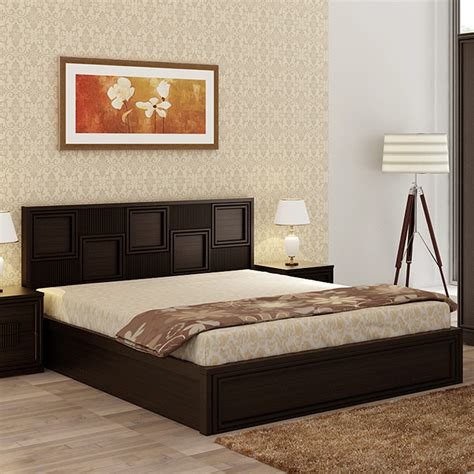 buy majestic engineered wood box storage queen size bed