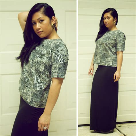 Gita Top By Briseis Collection 12 gita w madewell top dorothy perkins skirt gal earrings monochromatic lookbook