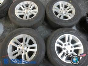 Oem Chevy Truck Wheels And Tires 2014 Chevy Silverado Ltz Factory 18 Quot Wheels Tires Oem Rims