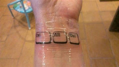 computer tattoo 25 computer tattoos
