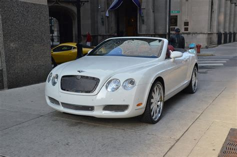 2007 bentley gtc 2007 bentley continental gtc stock r196aa for sale near