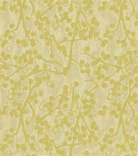 home decor upholstery fabric crypton cherries yellow