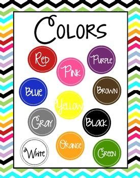 color posters colors poster chevron background by montgomery tpt