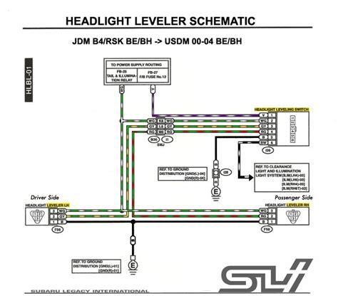 subaru wiring colors wiring diagrams schematics