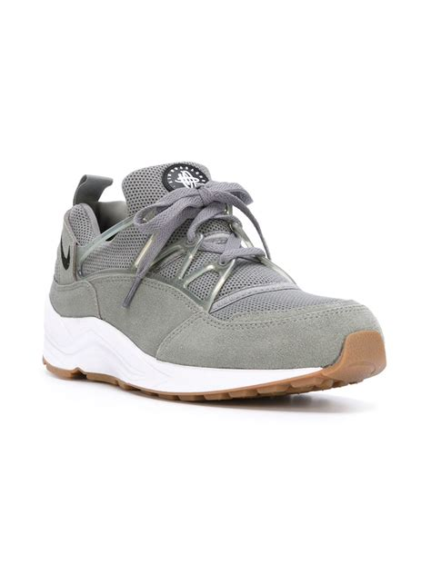 nike sneakers nike air huarache light sneakers in gray for lyst