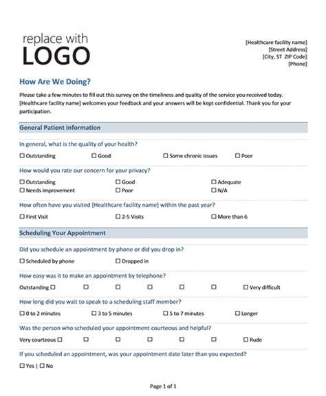 Survey Template Word Peerpex Html Survey Template