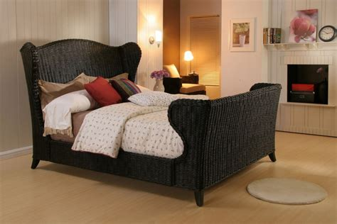 Black Wicker Bedroom Furniture Fabulous Black Wicker Bedroom Furniture Small Bed White Oak Flooring Rugdots